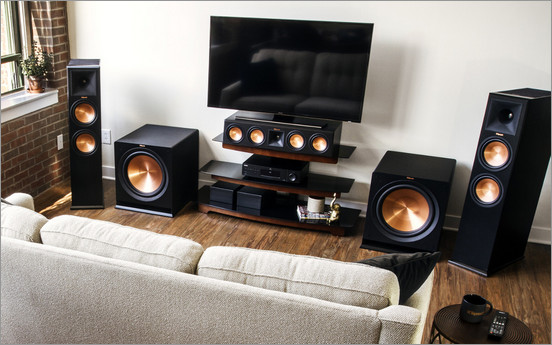 Powered-Subwoofer-Setup-from-Klipsch