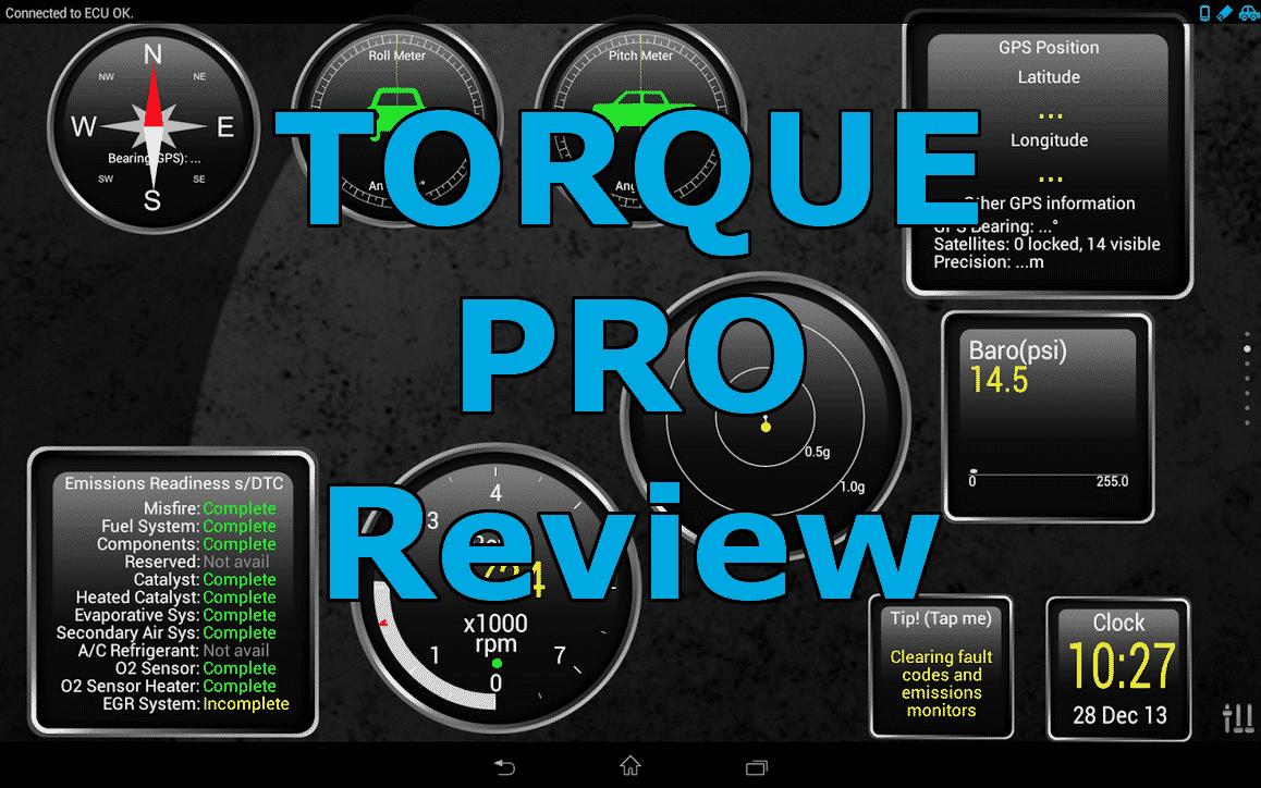 Torque Pro ELM 327 v1.5 vs BlueDriver Bluetooth Professional OBDII Scan Tool