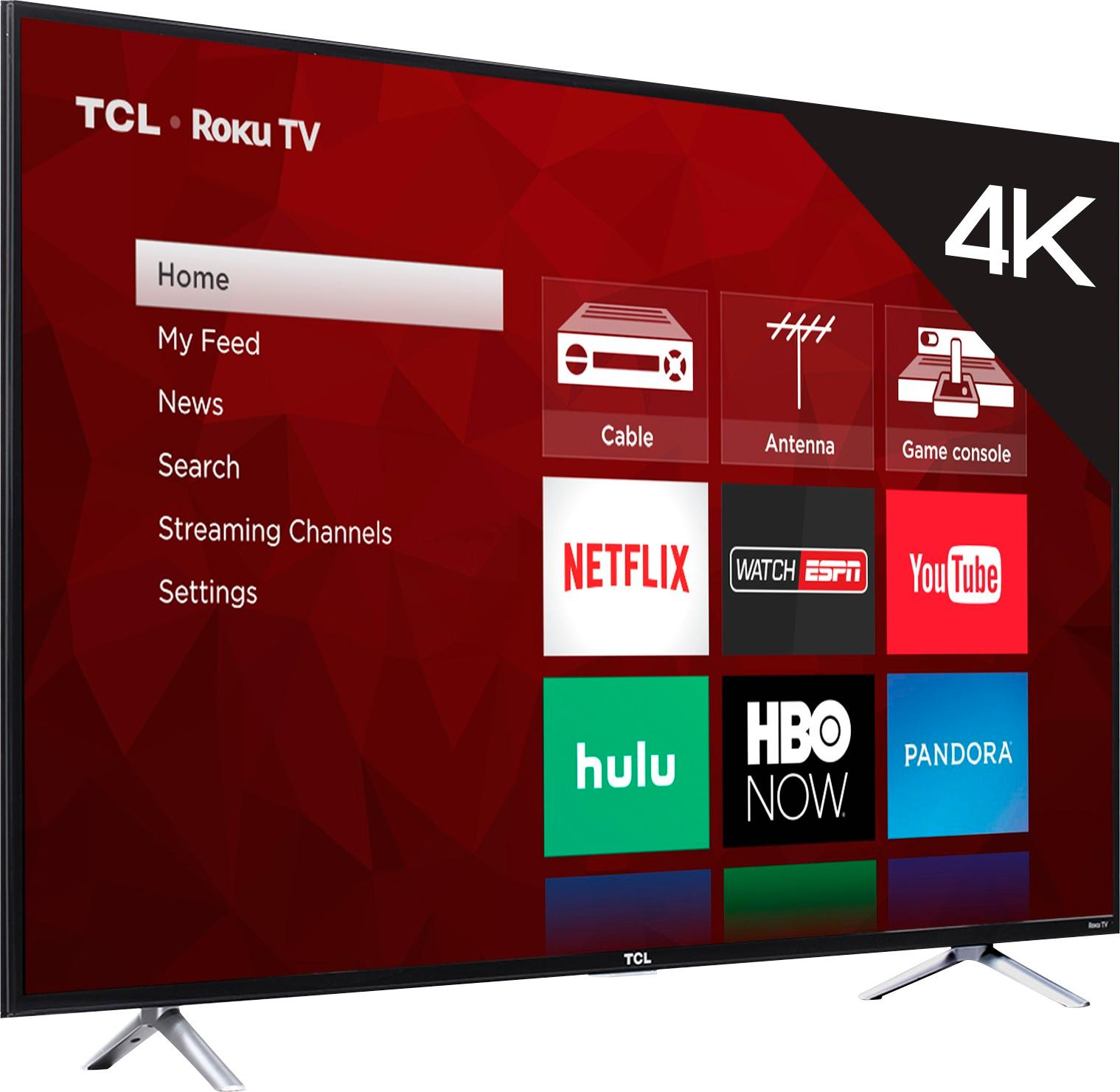TCL P series 55P605 or 55P607: spot the differences