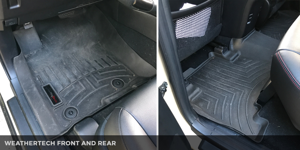 Husky vs. WeatherTech liners and mats – Which one offers the best protection?