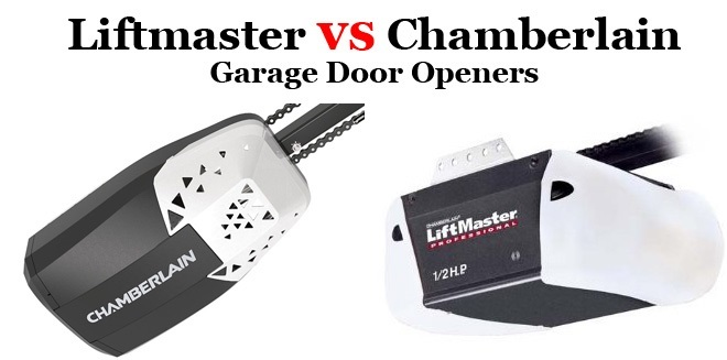 Liftmaster vs Chamberlain – Which is the Best Garage Door Opener?