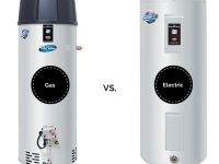 Gas-VS-Electric-water-heater-versus