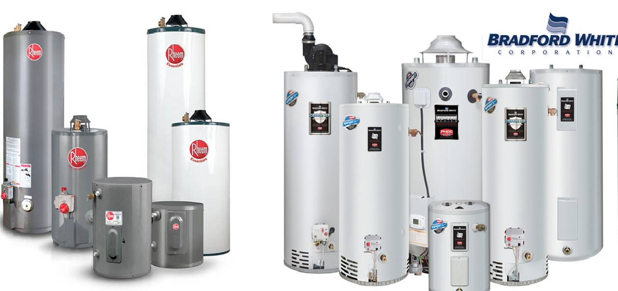 Bradford White Vs Rheem Water Heater Versus
