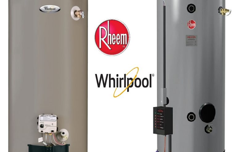 Rheem VS Whirlpool Water Heater