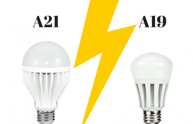 A19 vs A21 Bulbs