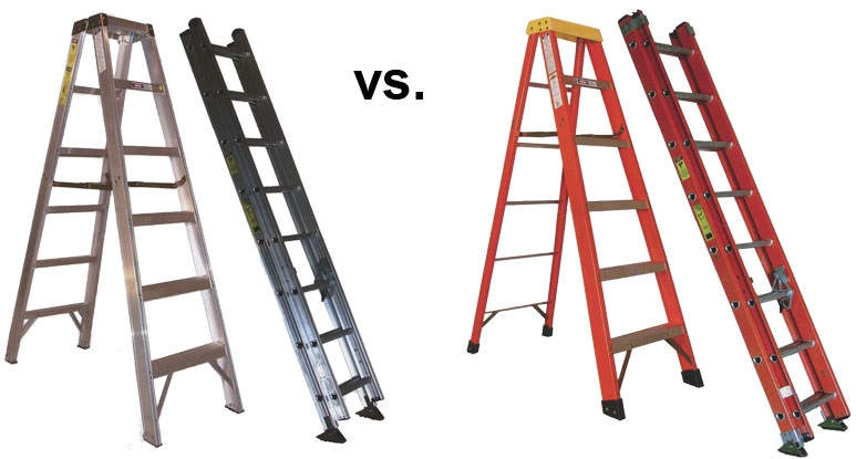 Is the fiberglass ladder better than aluminum?